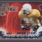 Jamal Lewis 00 Vanguard HIGH Voltage Rookie Year Card