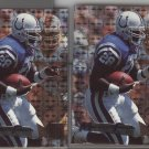 Marshall Faulk (2 cards) 95 Fleer Metal