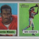 Marvin Minnis Topps Heritage REFRACTOR 2002