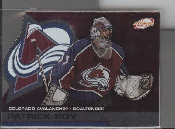Patrick Roy '03 ATOMIC card