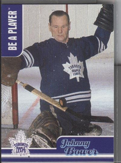 Johnny Bower BAP '99-'00 CH-5