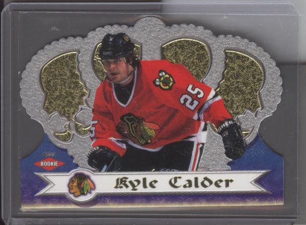 Kyle Calder Crown Royale ROOKIE Card