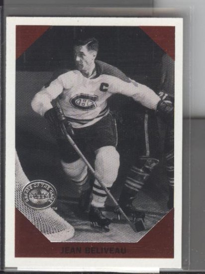 Jean Beliveau Fleer GOTG Retro Card