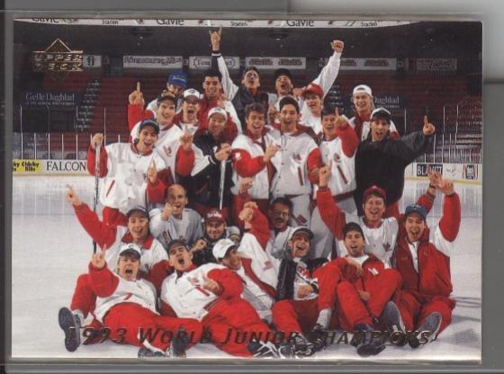 World Jr. Gold Medal Team '92-'93 UD