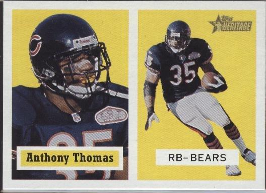 Anthony Thomas Topps Heritage 2002