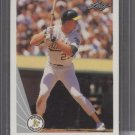 Mark McGwire 1990 Leaf Card