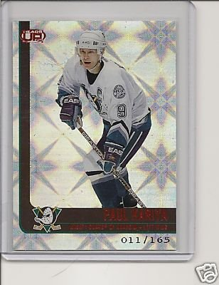 Paul Kariya '02 Heads-Up RED #d 011/165