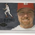 Mark McGwire 2000 Skybox EYE on OCTOBER