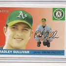 Bradley Sullivan 2004 Topps Heritage RC
