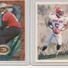 Donovan McNabb 1999 Donruss & Pacific ROOKIE Cards