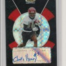 Chris Henry Topps FINEST Card Black Xfractor RC #d 4/25
