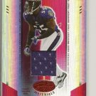 Terrell Suggs 04 Leaf Certified Materials #d