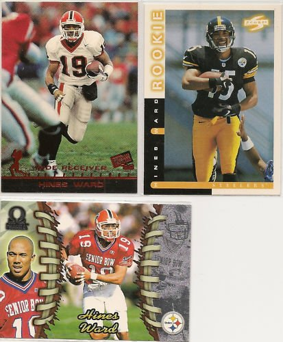 Hines Ward 1998 Rookie Cards (3)