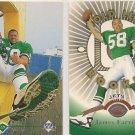 James Farrior 1997 Rookie Cards Leaf-Upper Deck