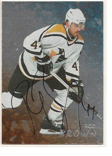Rob Brown '99 BAP Autograph Card