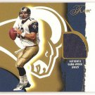 Kurt Warner '02 Flair Franchise Favorite Jersey Card