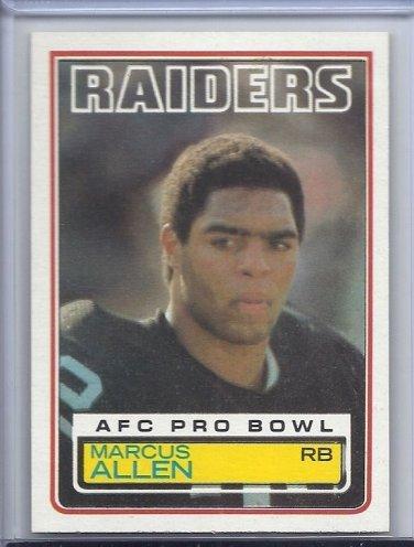 Marcus Allen 1983 Topps ROOKIE