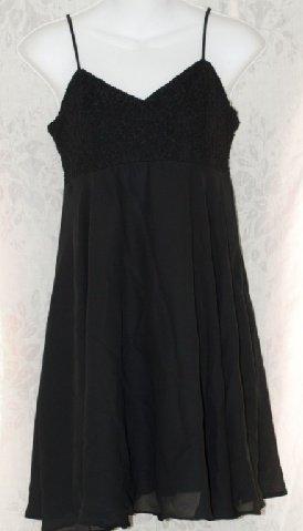Black Rampage Dress - Wedding - Prom