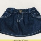 Build a Bear Workshop Jean Denim Skirt BABW EUC