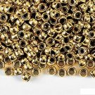 150 GOLD PONY BEADS (CRAFTS, JEWELRY)