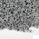150 SILVER PONY BEADS (CRAFTS, JEWELRY)