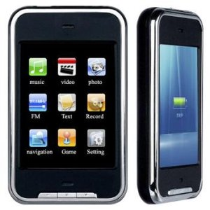 4gb iPod Touch Clone - Virtual Touch VT-2 + FREE 2gb mini SD Card