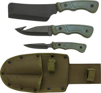 Maxam 4pc Field Cutlery Set - Gift Boxed