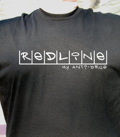 REDLINE My Anti-Drug T Shirt S2000 NSX RSX HONDA TYPE R V tec evo
