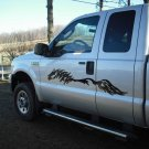 Side body scribble horse decal decals graphics horses