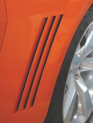 2010 Camaro SS RS side vent quarter decal decals V8 V6