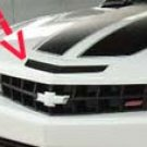 2010 Camaro SS front fascia vent mail slot decal decals