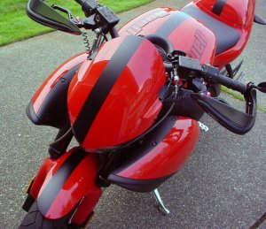 Motorcycle bike decal stripe fits 2009 Buell 1125CR
