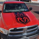 Huge hood graphic decal decals vinyl fits 09+ Dodge Ram