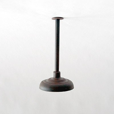 Ceiling / Drop Down Lamp / Light for Large / G-Scale Model Train Layout Buildings - Weathered