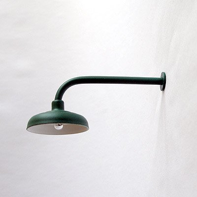 L-Shaped / 90º Lamp / Light for Large / G-Scale Model Train Layout