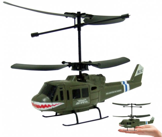 Alany Tiger Shark 3ch Mini RC Helicopter