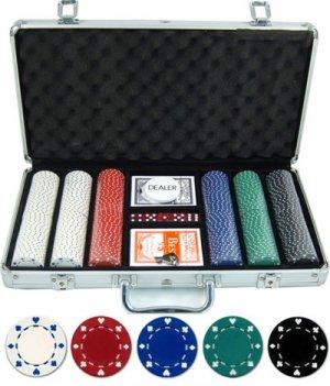 300 piece 11.5 gram Suited Poker Set