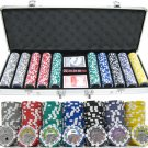 13.5g 500pc Casino Royale Clay Poker Chip Set
