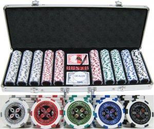 "13.5g 500pc ""Ultimate Poker"" Chip Set"