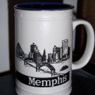 Memphis Collectible  Pyramid Blues Tall Coffee Mug