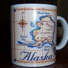 Alaska Collectible Coffee 10 oz. Mug Map
