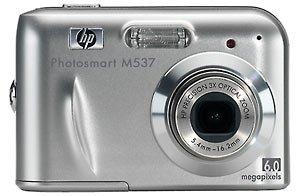 NEW HP Photosmart M537 6MP Digital Camera with 3x Optical Zoom