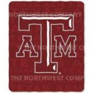 "NCAA Light Weight Fleece Blanket - 50""""x60"""" - Texas A&M"