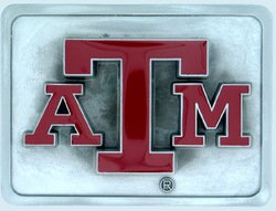 College Trailer Hitch Cover - Texas A&M