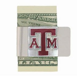 College Large Money Clip - Texas A&M
