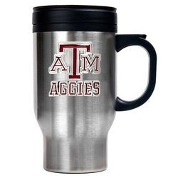 NCAA Stainless Steel Travel Mug - Texas A&M