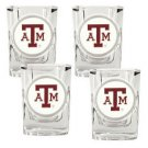 NCAA 4pc Shot Glass Set - Texas A&M