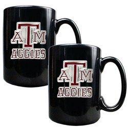 NCAA 2pc Coffee Mug Set - Texas A&M