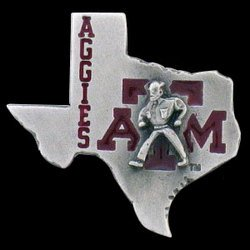Team Logo Pin - Texas A&M