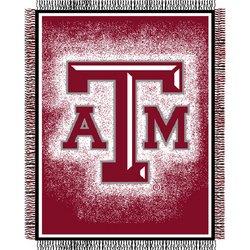 """Triple Woven Jacquard NCAA Throw - 48""""""""x60"""""""" - Texas A&M"""